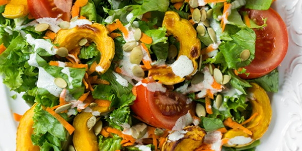 Salata verde cu seminte