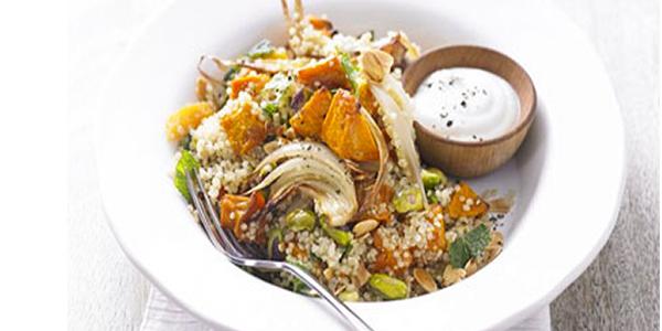 Gustare de pranz cu quinoa