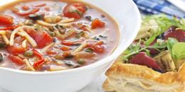 Supa iute cu paste