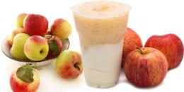 Smoothie cu mere