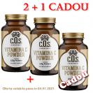 Vitamina C Powder COS Laboratories  2+1 Cadou