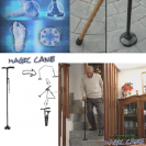 Magic Cane - baston avansat pliabil cu LED