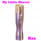 My Little Shaver - Mini aparat de ras electric - Roz