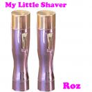 My Little Shaver - Pachet 2 bucati - Roz