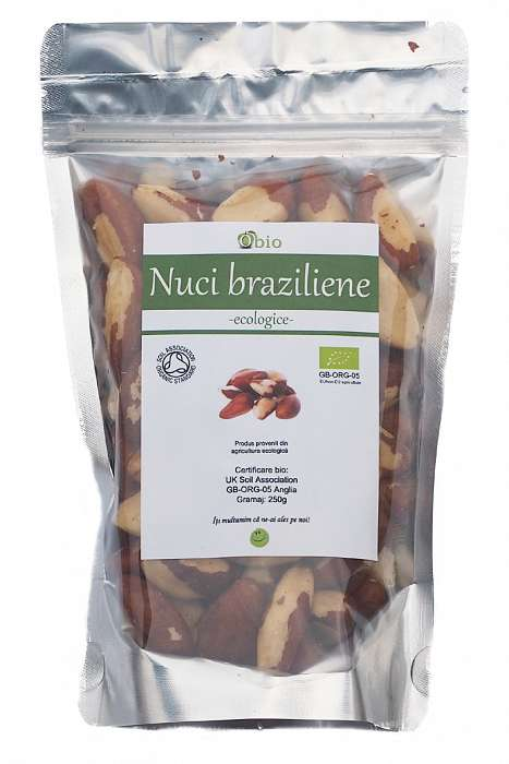 NUCI BRAZILIENE CRUDE BIO 250G