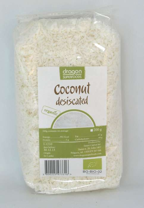 Miez de nuca de cocos macinat Bio