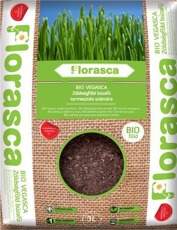 Pamant ecologic pentru iarba de grau, orz, ovaz