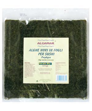 Alge marine Nori pentru sushi