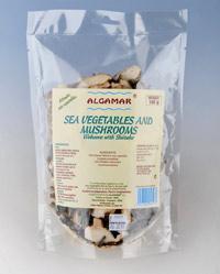 Alge marine cu ciuperci Shiitake