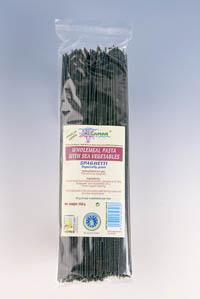 Spaghetti integrale cu alge marine Bio