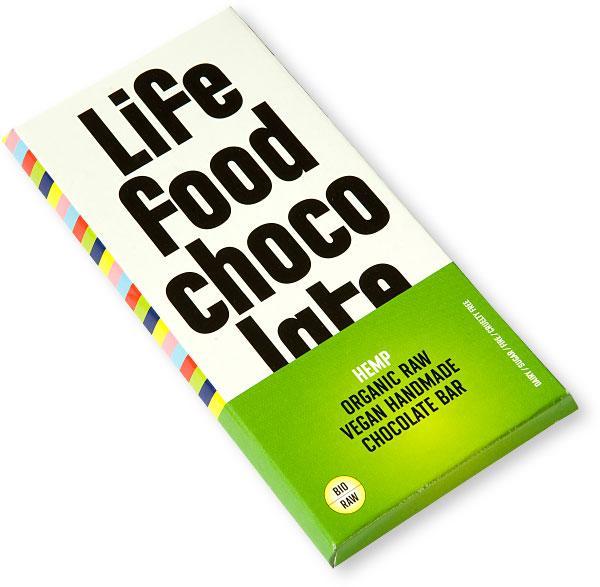 Ciocolata cu seminte de canepa Raw Bio