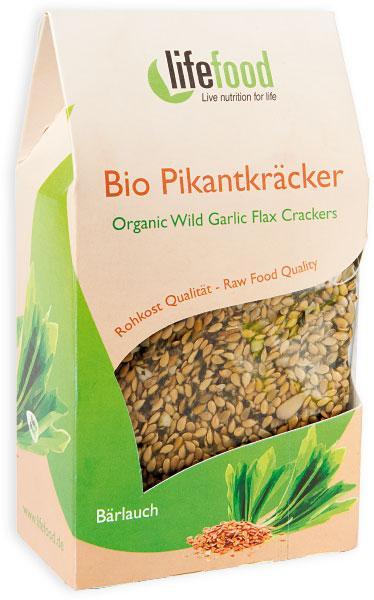 Crackers cu leurda Raw Bio