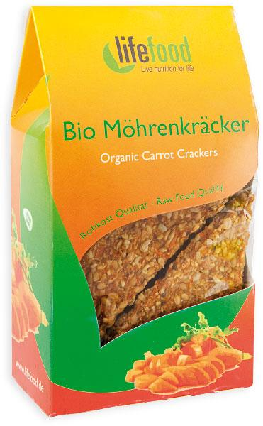 Crackers cu morcovi Raw Bio