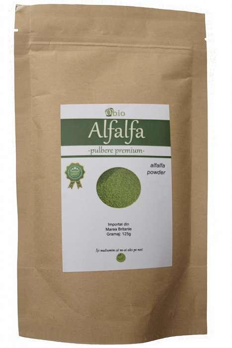 Alfalfa (Lucerna) Pulbere