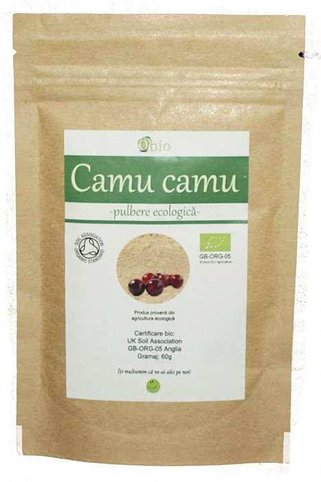 Camu Camu Pulbere Raw Bio