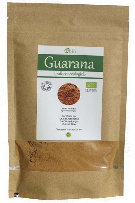 Guarana Pulbere Raw Bio