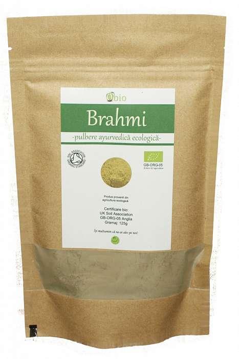 Brahmi Pulbere Raw Bio