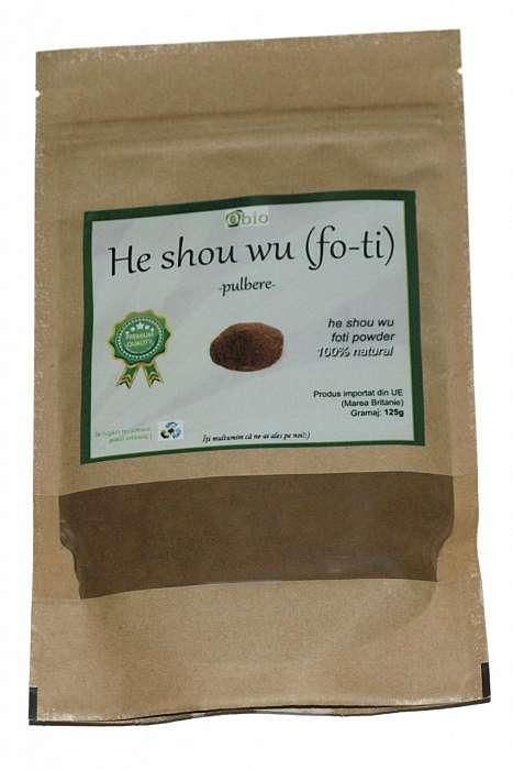 He Shou Wu (Fo-Ti) Pulbere