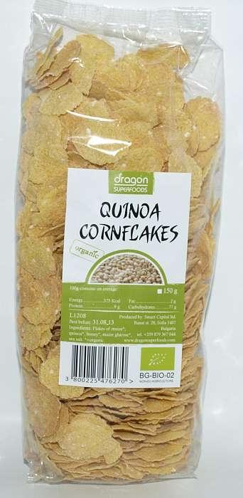 Fulgi de porumb cu quinoa Bio