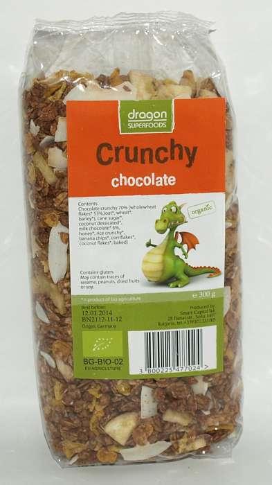Crunchy cu ciocolata Bio