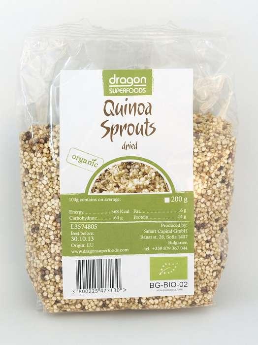 Quinoa Germinata si Uscata Raw Bio