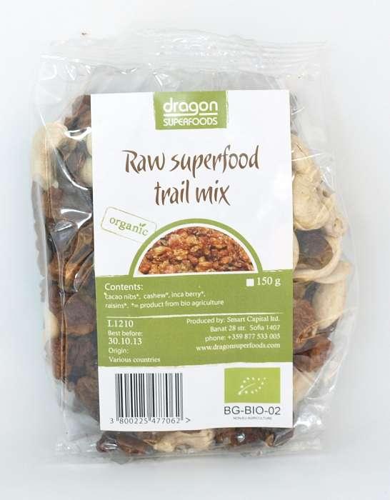SuperMix Raw (Incan Berry, Caju, Miez din Boabe de Cacao) Bio