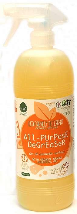 Detergent bio universal cu ulei de portocale