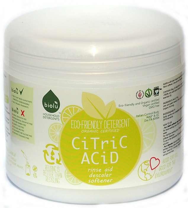 Acid citric bio pentru rufe