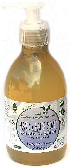 Sapun lichid bio antibacterian cu lavanda si Vitamina E