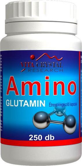 Amino Glutamin 250 cps
