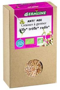 Mix alfalfa, trifoi, ridiche pentru germinat bio