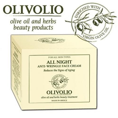 Olivolio - All Night Crema antirid pentru Noapte