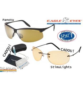 Eagle Eyes - 2 perechi de ochelarii cu lentile TriLenium Polarizate