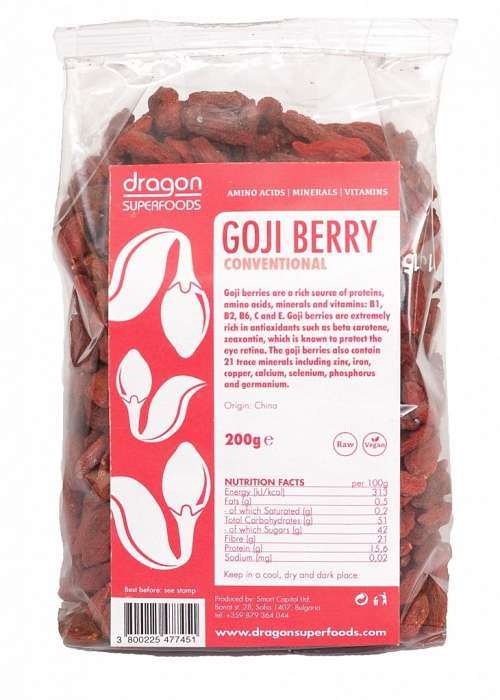 GOJI BERRY RAW 200G