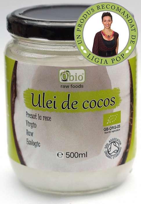 ULEI DE COCOS VIRGIN PRESAT LA RECE BIO 500ML
