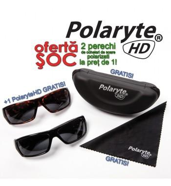 Polaryte HD - 2 perechi de ochelari de soare polarizati la pret de 1