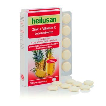 HEILUSAN Zinc + vitamina C