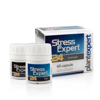 STRESS EXPERT 24 Day and Night - supliment antistress 100% natural
