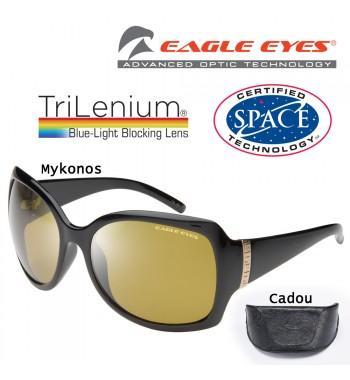 Eagle Eyes Mykonos - ochelarii de soare cu lentile TriLenium Polarizate, pentru femei
