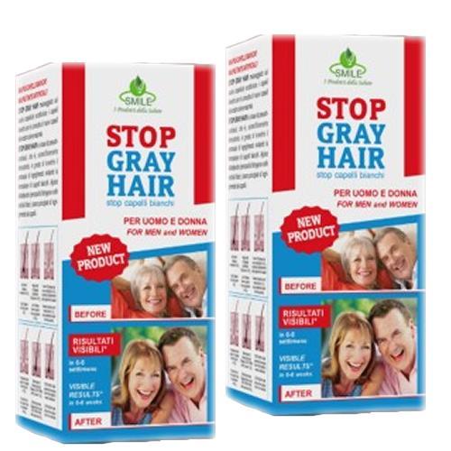 Stop Gray Hair - Pachet 2 bucati