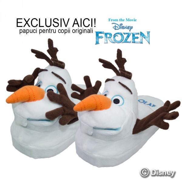 Frozen Olaf Stompeez - papuci pentru copii originali cu personajele Frozen