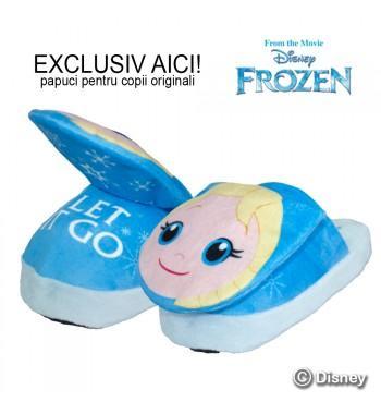 Frozen Elsa Stompeez - papuci pentru copii originali cu personajele Frozen