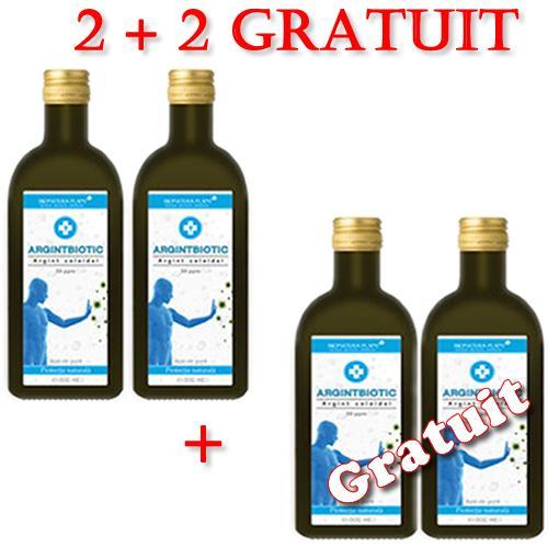 Argintbiotic 50ppm 2 + 2 Gratuit