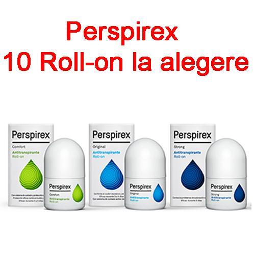 Perspirex Roll-on - 10 bucati la alegere