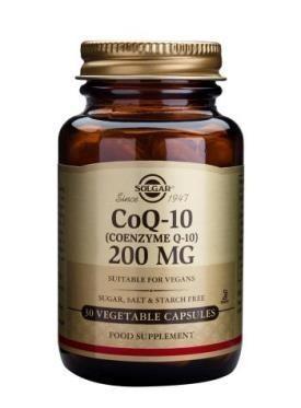 Coenzime Q-10 200mg 30cps Vegetale SOLGAR