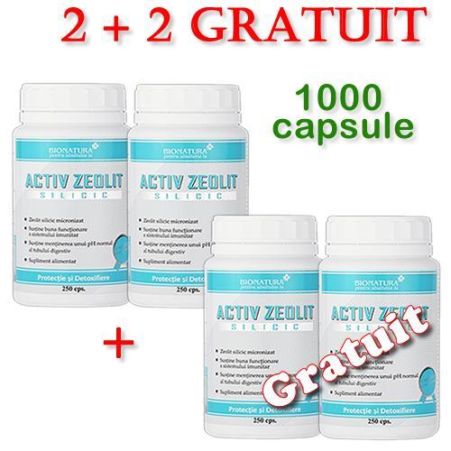 Promotie Zeolit Silicic 2+2 Gratuit