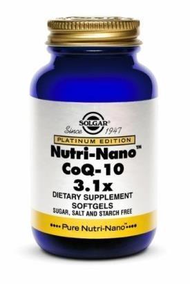 Nutri-Nano Coenzima Q10 - SOLGAR