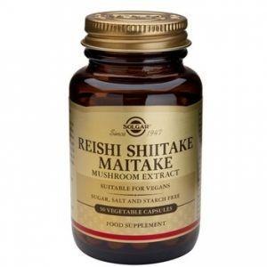 Reishi Shitake Maitake Solgar