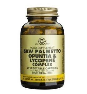 Saw Palmetto Opuntia Lycopene Complex Solgar