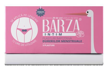 Plasturi impotriva durerilor menstruale Barza